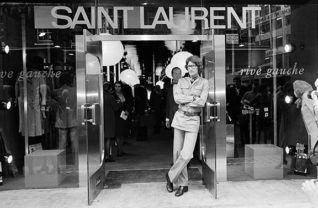 Boutique de Yves Saint Laurent em Paris