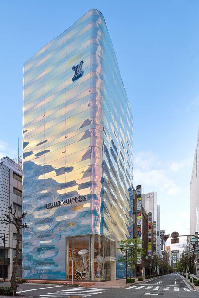 Nova Flagship da Louis Vuitton inaugurada em Tóquio
