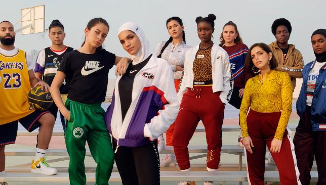 Campanha Nike Sportswear   Reprodução