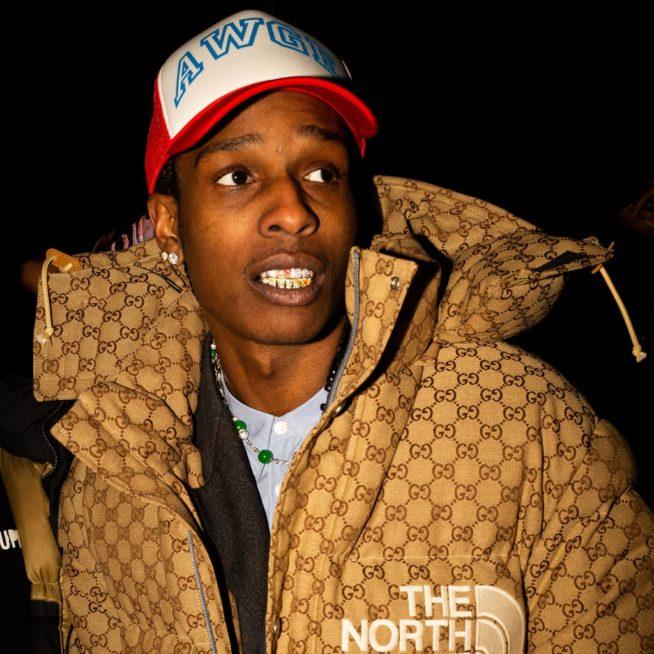 ASAP Rocky com a collab da Gucci com a The North Face | Cortesia