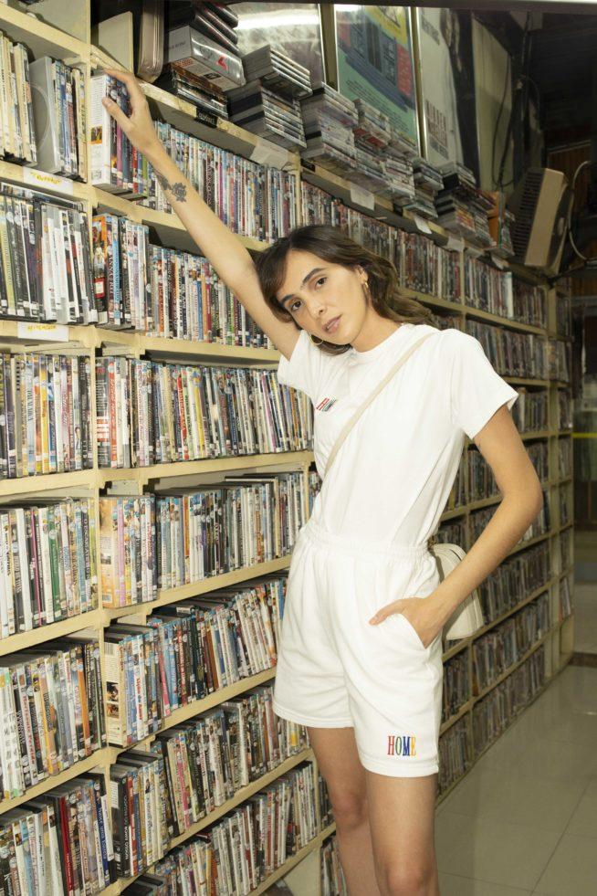 Angelica Bucci, vestindo sua marca   Cortesia