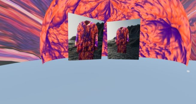 Captura de Tela da Exposição ÍON, de Lucas Leão