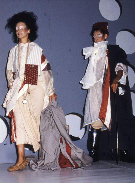Imagem da coleção de formatura Les Incroyables, 1984 / Foto: Reprodução