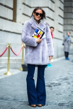 New York Fashion Week Street Style - February 15 2015 - RTW Fall Winter 2015