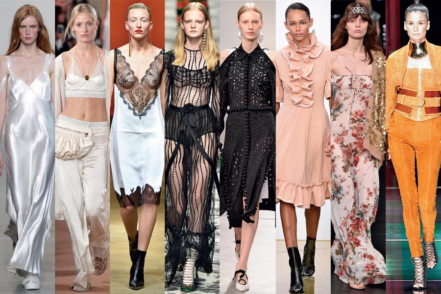 6ae6dd8fe4 Looks Calvin Klein, Balenciaga Céline, Gucci, Proenza Schouler, J.W.  Anderson, Saint