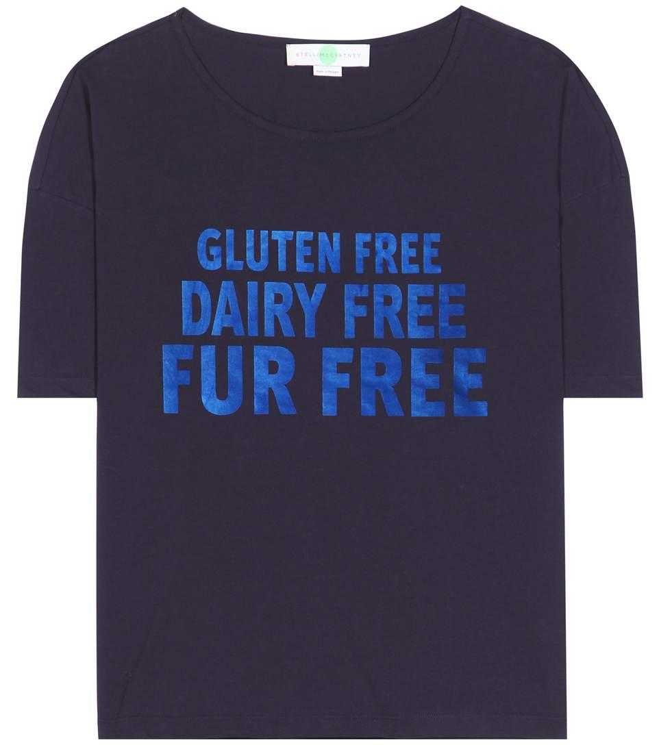 camiseta com mensagem stella