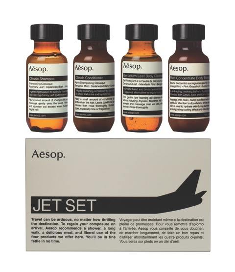 Kit Jet Set Aesop ($ 163)